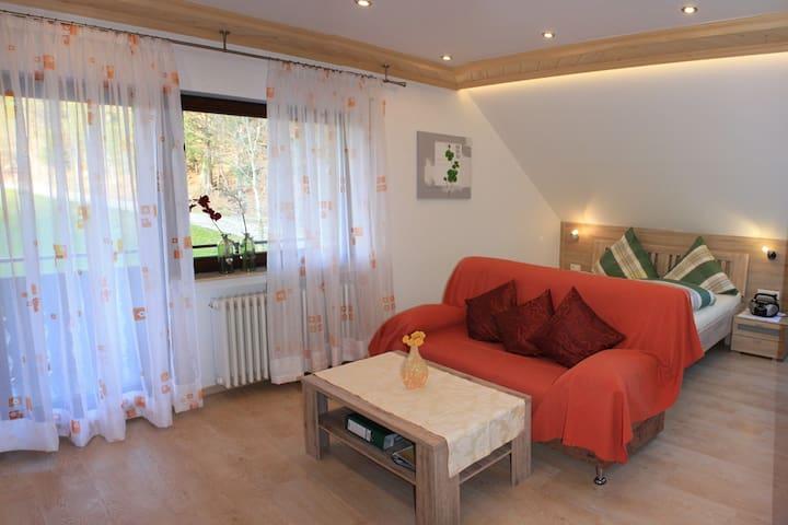 Schlosshof - der Urlaubsbauernhof, (Elzach-Prechtal), Ferienwohnung Schlössle, 22 qm, 1 Schlafraum