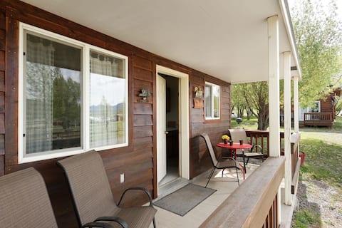 Spruce Cabin in the Cimarron Valley