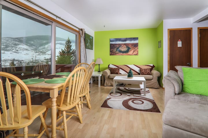 Cozy 1BR condo in the CO Rockies - Dillon - Appartement