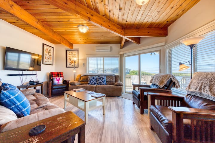 Stunning views from this updated, oceanfront beach house - dogs OK!