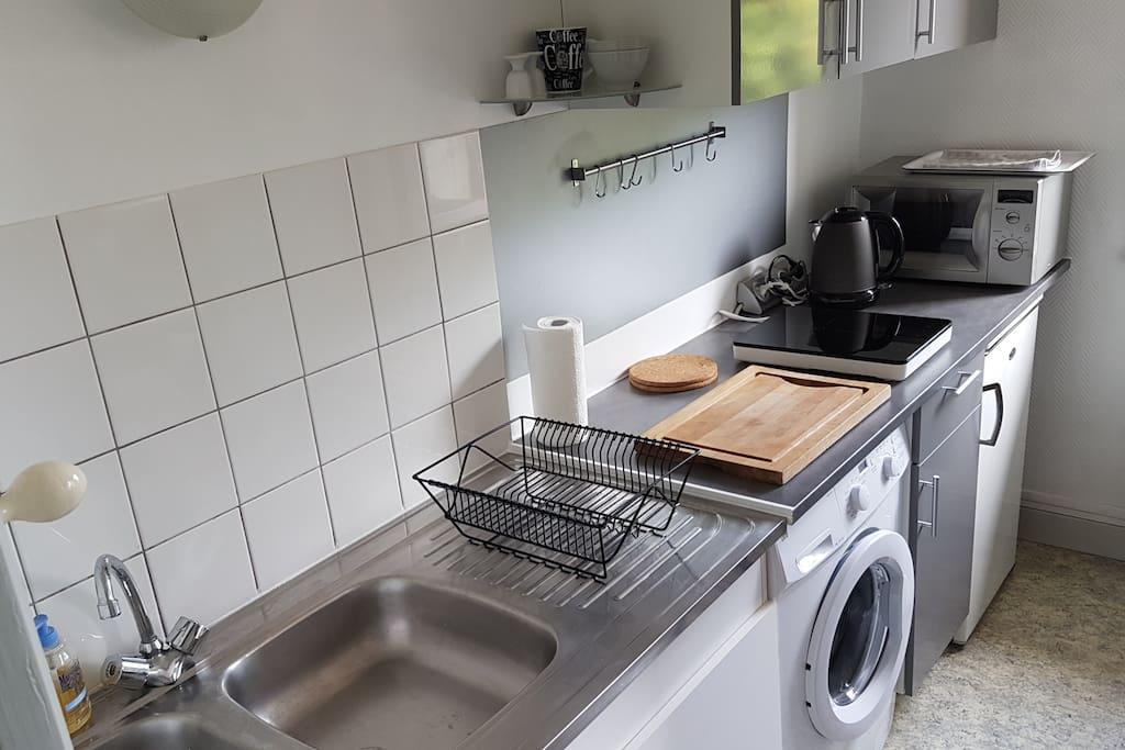 ... la cuisine est très bien équipée.