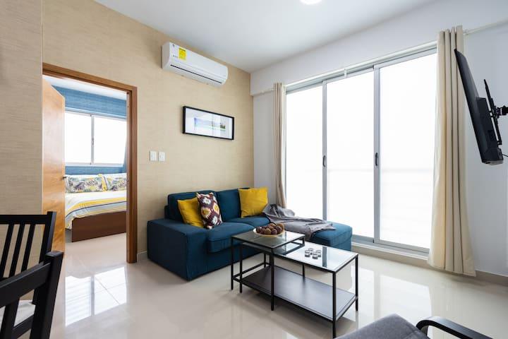 ⍟Comfortable one⍟ Bedroom Apt in EvaristoMorales