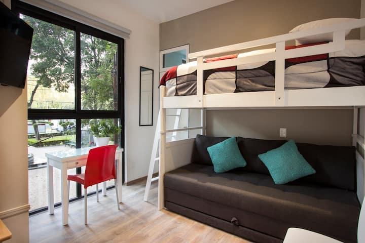 Precioso Miniloft, super ubicado en Zona Centro.