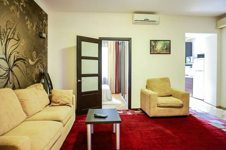 Apartment (3 bedrooms) in the heart of the city