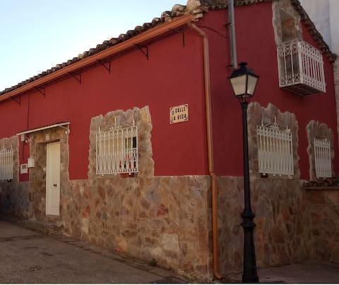 Casa de piedra en el Valle de Lozoya