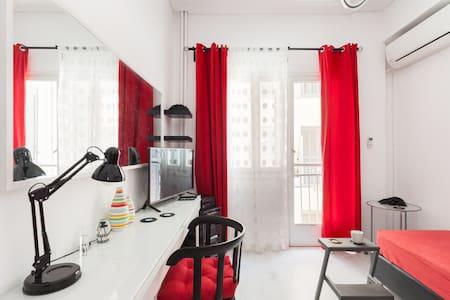 Contemporary Flat in Central Athens - Zografou - Appartamento