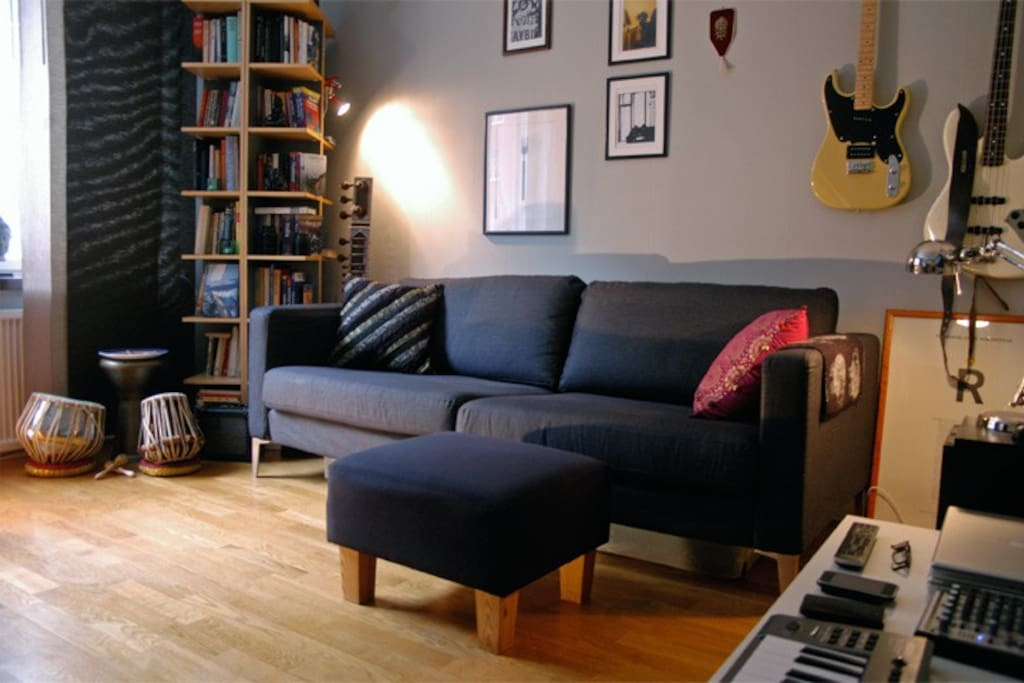 Cozy apartment at Nytorget, SoFo