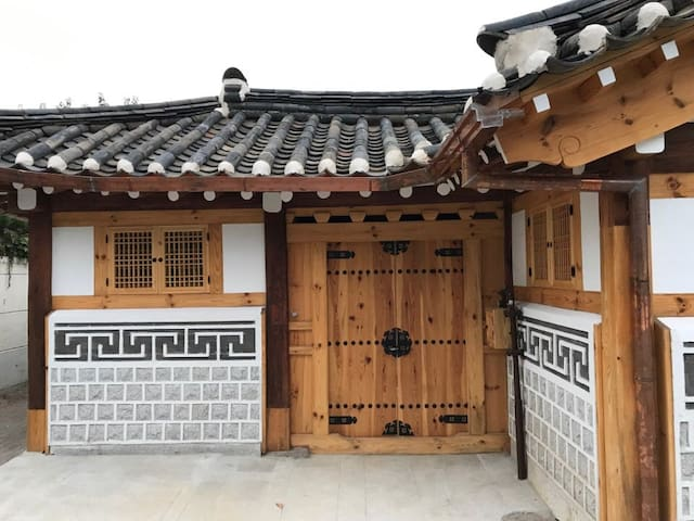 Stay in a hanok near the Blue House
