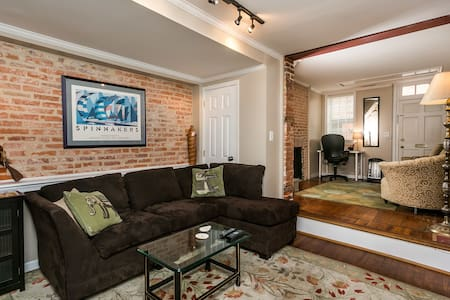 Fed Hill Townhouse - 1 Block From Inner Harbor! - Ház