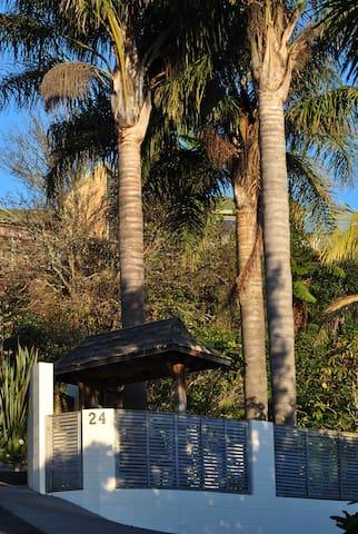 Nikau Palm Hideaway Studio in Tauranga