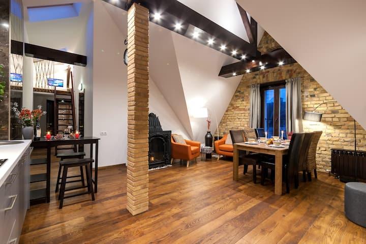 Riga Roofs apartment