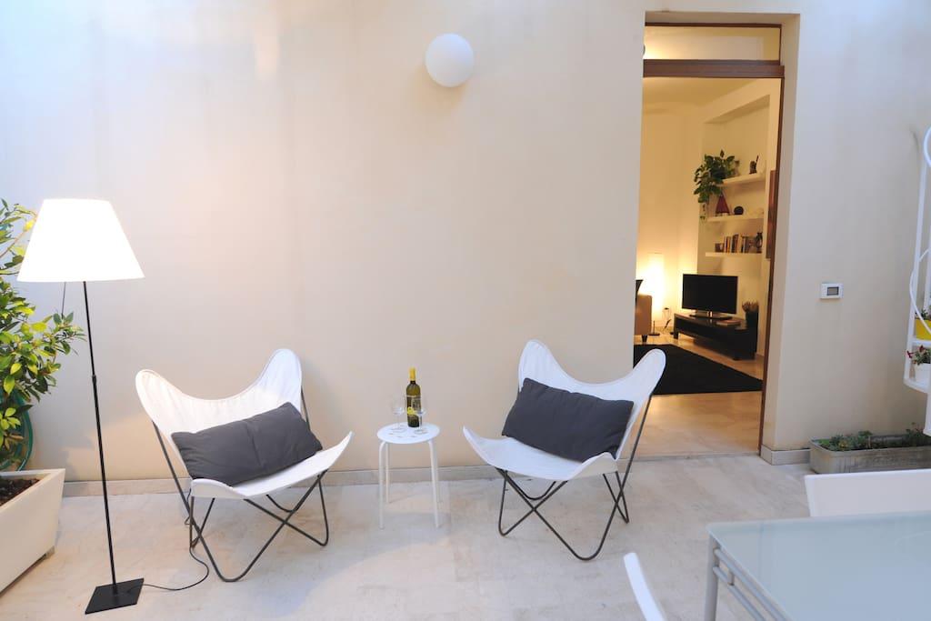 Patio, garden  Alloro&Gelsomino