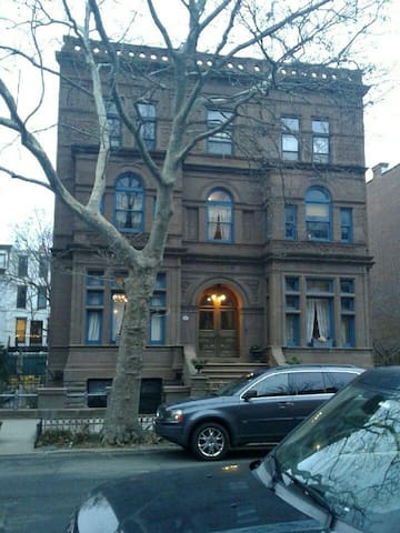 This is the John C. Kelly House. huge mansion