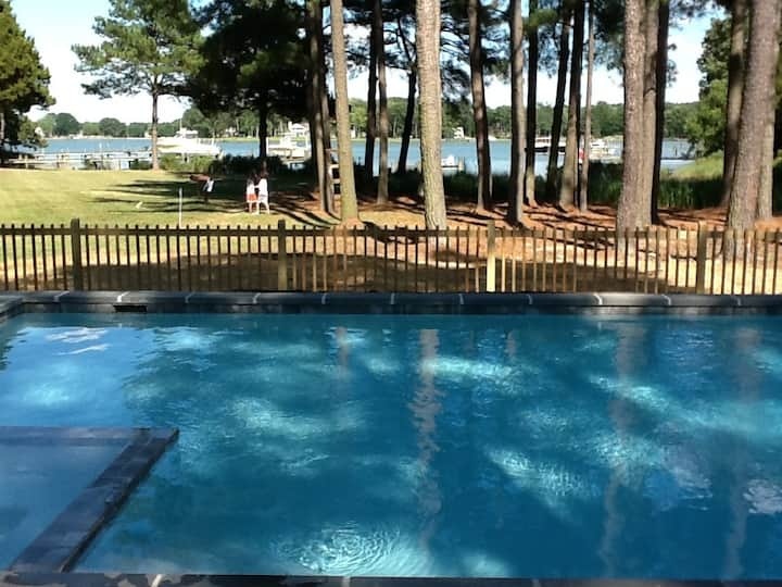 *****Waterfront hs St. Michaels w/ private pool