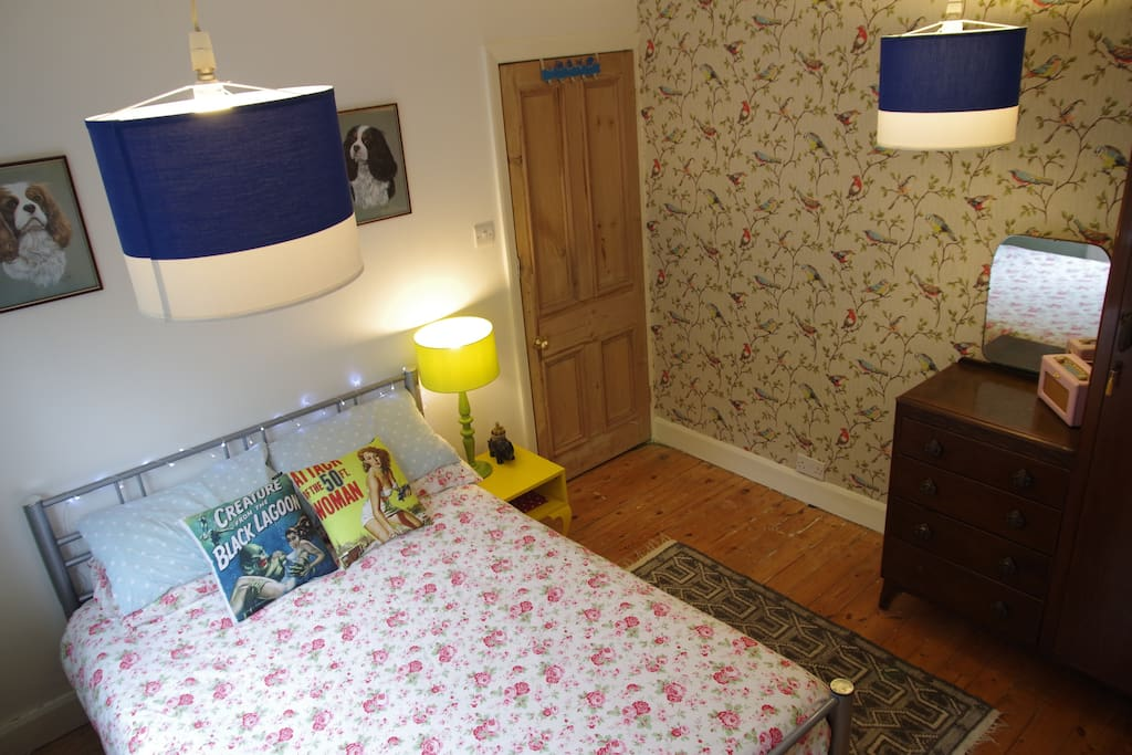 Room features a dressing table wardrobe, draw combo