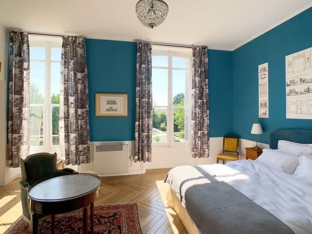 Chambre  «Les Architectes» au Château Salverte