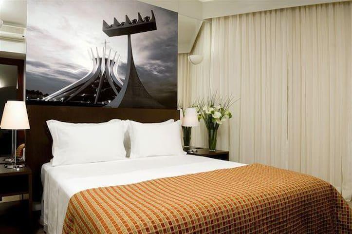 New Suite, Bonaparte Hotel, up to 4 people, - Brasilia - Huoneisto
