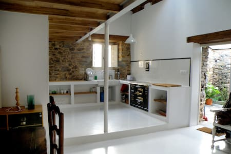 Rustic Cottage / Casa de campo LUGO - A Pontenova - Huis