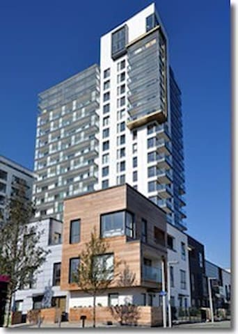 1BD apartment near the O2 arena - Londres - Appartement