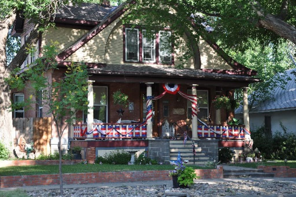 4th of July decorations at The Nest.