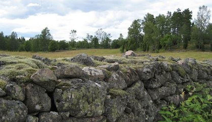 Rural 'Smaland' walls