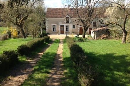 Longère de charme: châteaux et zoo - Villentrois