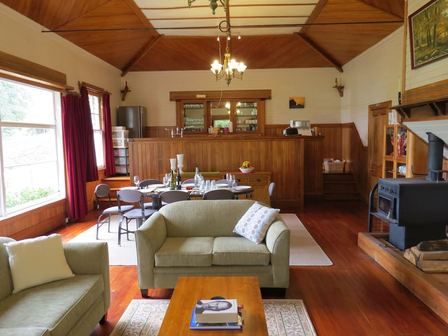 The courtroom, main lounge/dining