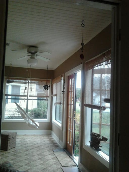 Sun room, February 2012