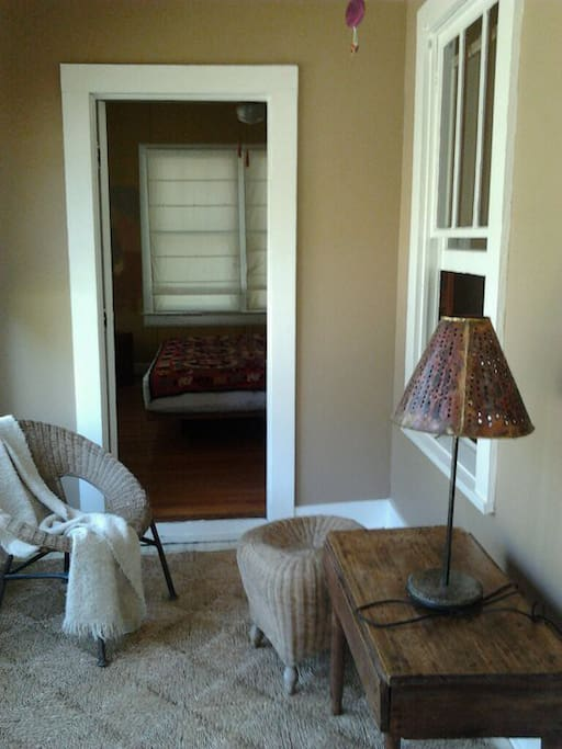 Sun room, looking into bedroom, 2011
