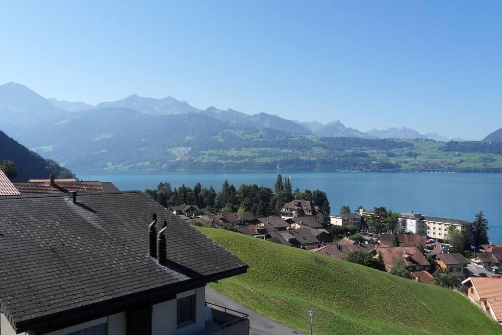 Aussicht Richtung  Interlaken