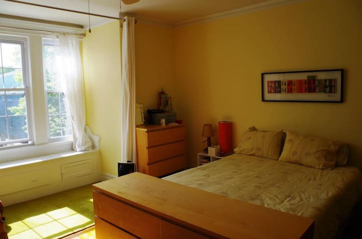 Master Bedroom. Very bright and VERY quiet.