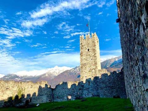 La casa sulla  Collina del Castello di BRENO