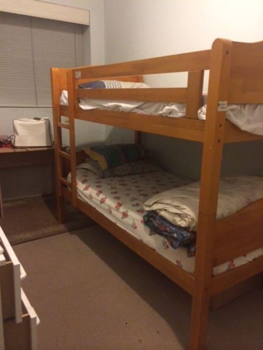 Bunk bed!