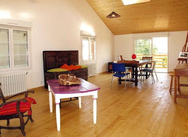 Grande maison proche de la mer ( 100m) - Kerlouan - Dom