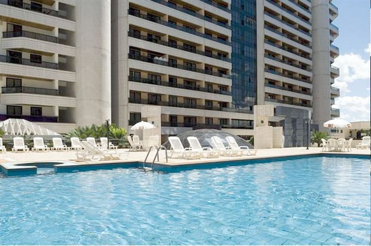 Spacious Hotel Flat (Downtown) - Brasilia - Apartment