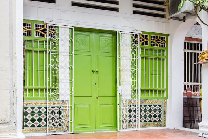 When you find the green door you know you've arrived at your home in Penang.