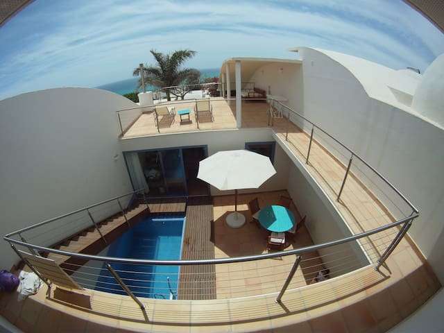 LUXURY VILLA HEATED POOL WIFI - Costa Calma - Hus