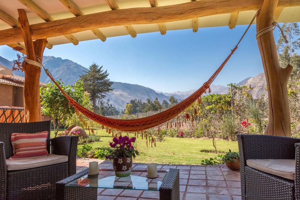 Relax with the amazing mountain views and sounds of nature