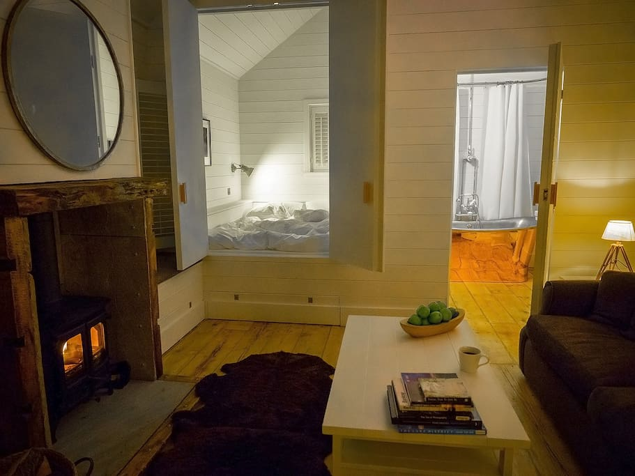 A restful retreat. Perfect as a romantic getaway or a base to explore the North West.