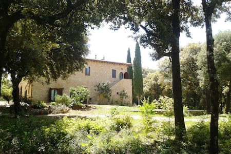 Ripa, casale nel bosco vicino Siena - Monteriggioni