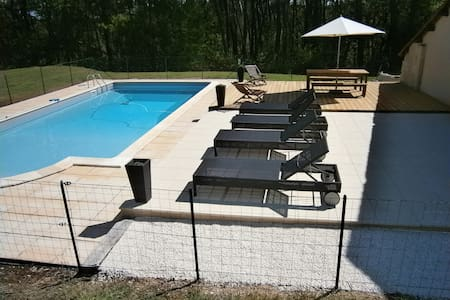Belle demeure avec piscine, 9 pers  - Maurens - Dom