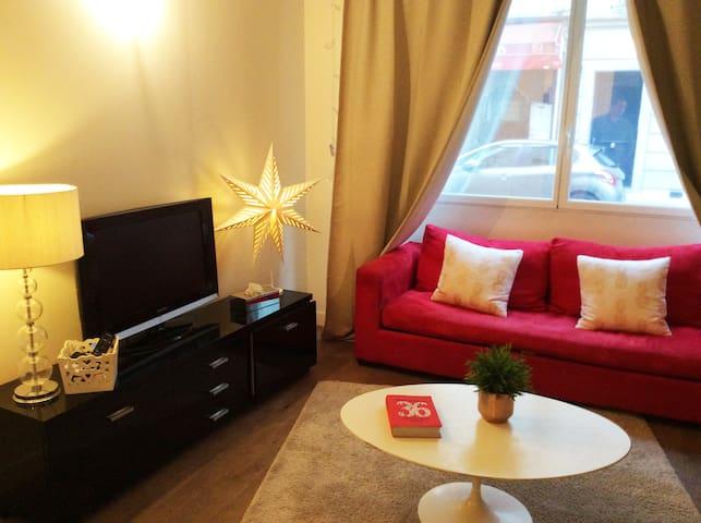 Cosy Apartment - 10 minutes walk Champs-Elysées - Pariisi - Huoneisto