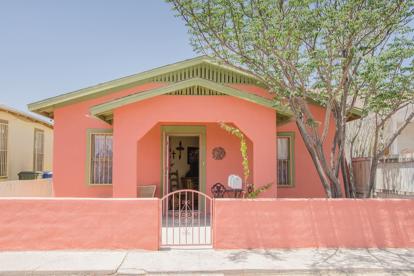 View of our Casita from the street.