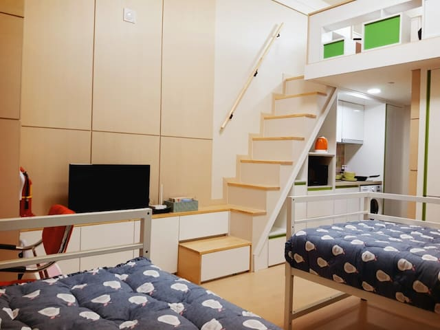Brand New Private Duplex Studio 20th - Jung-gu - Appartement