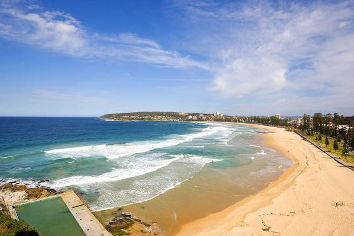 Absolute Manly beachfront direct access & views