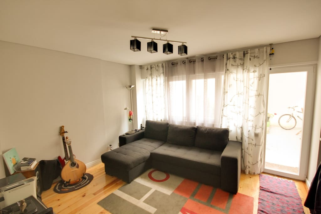 Living room (sofa double bed)