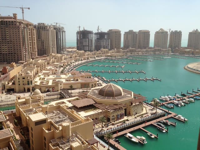 BEST LOCATION IN DOHA! PEARL APT. - Doha - Lägenhet