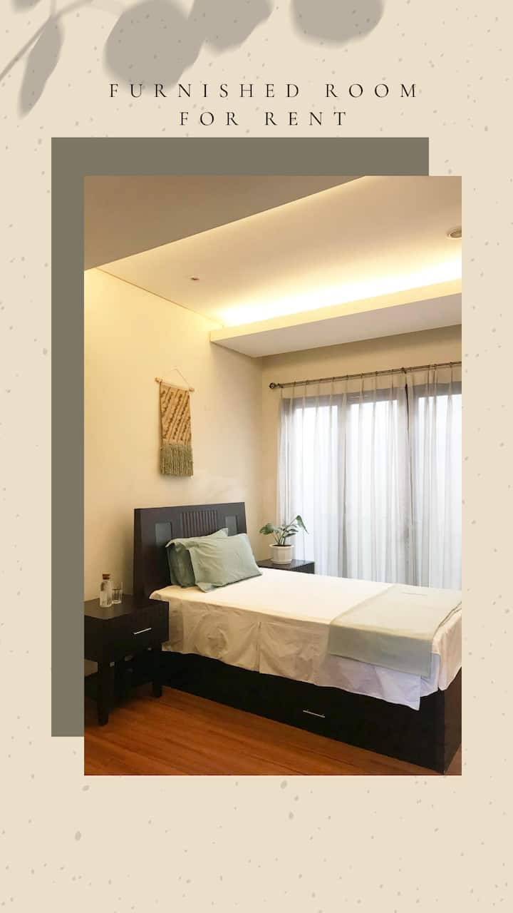 Stylish 1BR in South Jakarta's prime location
