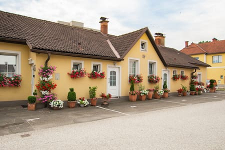 Auszeit Leoben 3 mit gratis Parkplatz und Terrasse