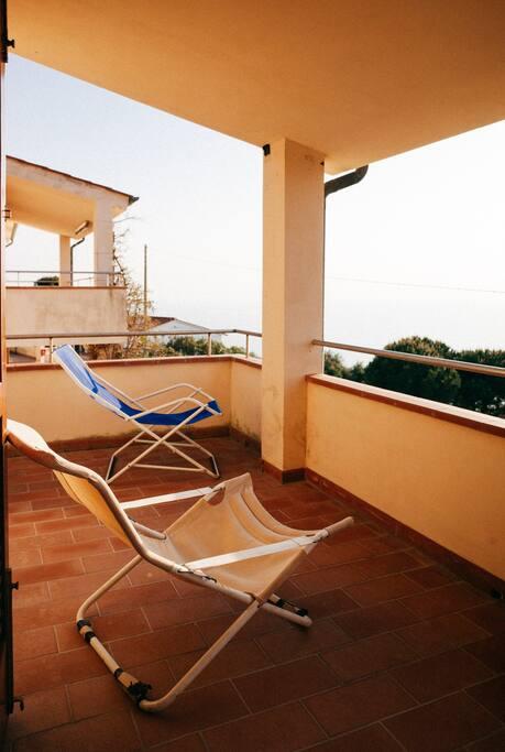 Terrazzo coperto. Terrace